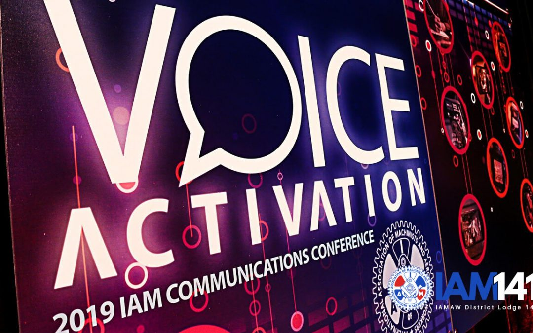 Local Activists Called To Action at Machinists Union Communications Conference