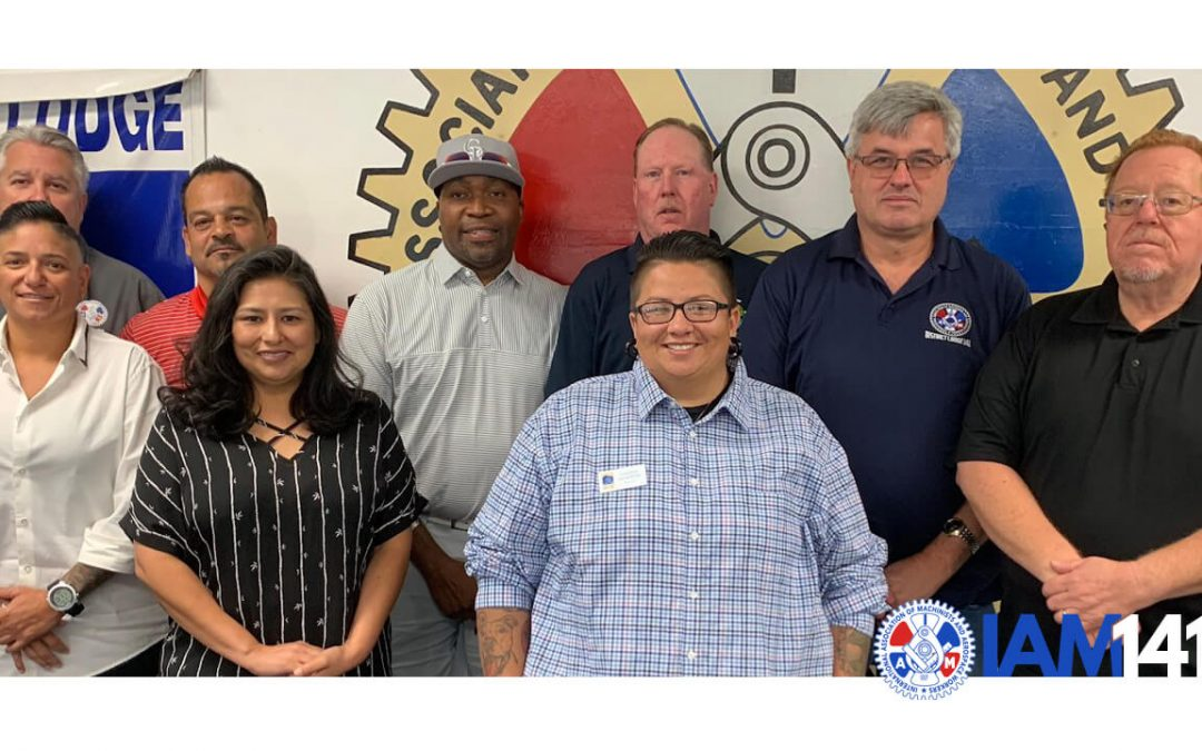 A Call to Collective Action at the Colorado Machinists Council Meeting