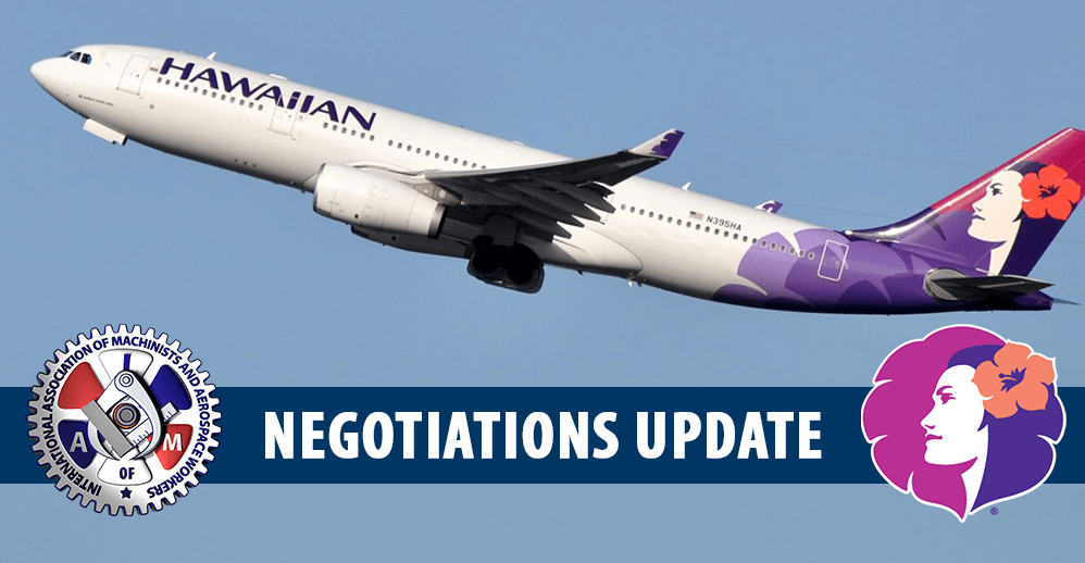 HA Negotiations Update
